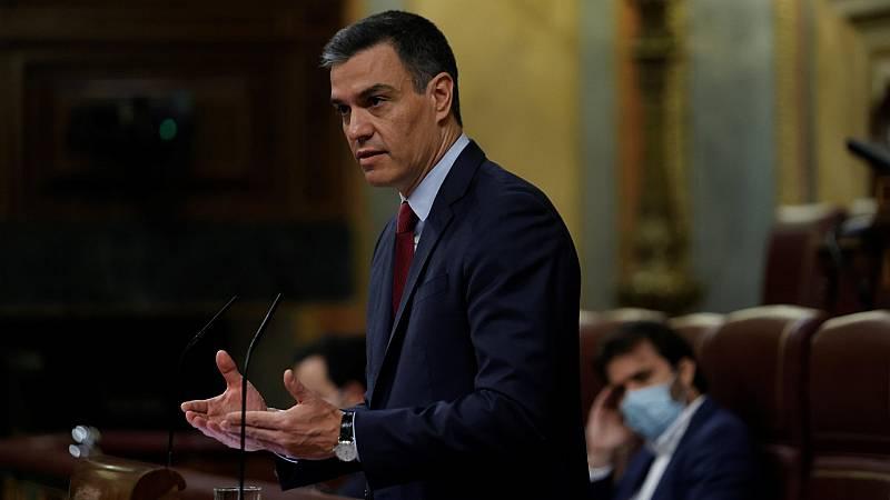 """Sánchez, sobre los indultos: """"La vía judicial es evidente que por sí sola no resuelve el conflicto"""""""