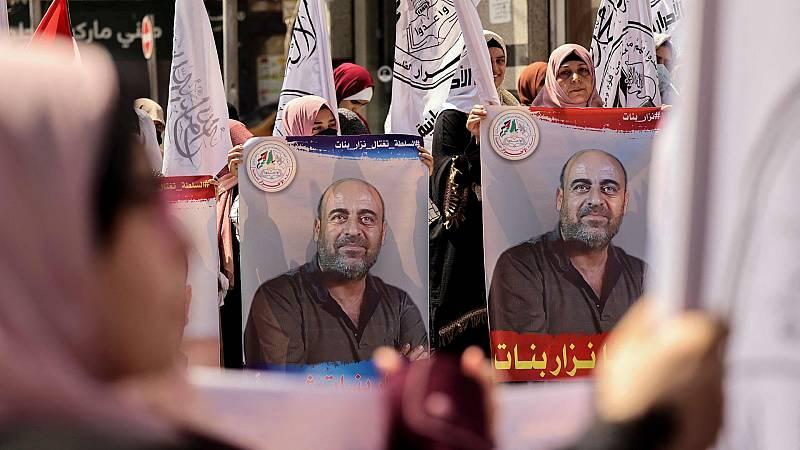 La muerte del disidente Nizar Banat acorrala el liderazgo de Mahmud Abás en Palestina