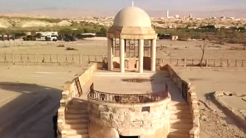 La limpieza de minas permitirá la visita a los templos junto al lugar donde Jesús fue bautizado