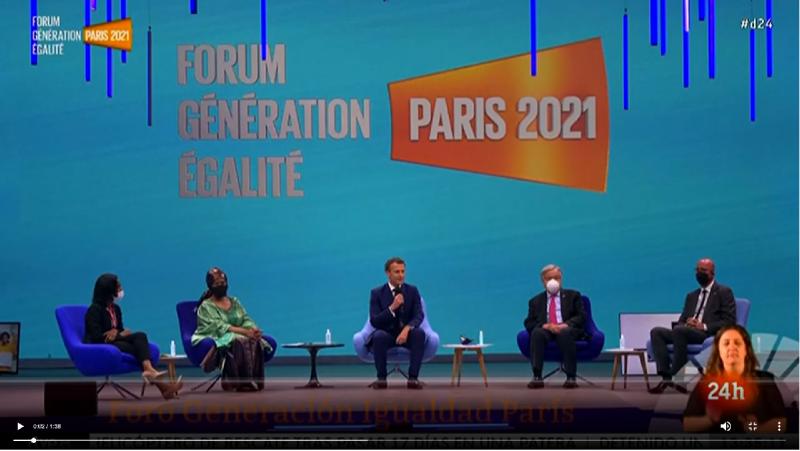 Foro Generación Igualdad París: 33.000 millones de euros para avanzar en los derechos de las mujeres