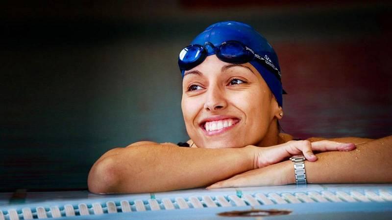 Teresa Perales, campeona de natación paralímpica