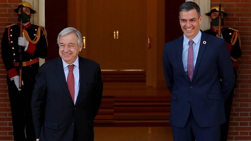 Antonio Guterres (ONU) apoya la vía del diálogo para resolver conflictos como el catalán - ver ahora