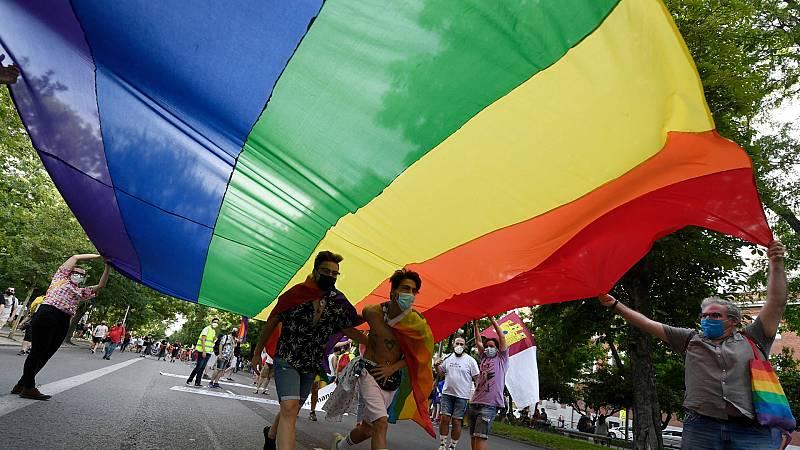 Arranca en Madrid un Orgullo con aforo limitado por la pandemia
