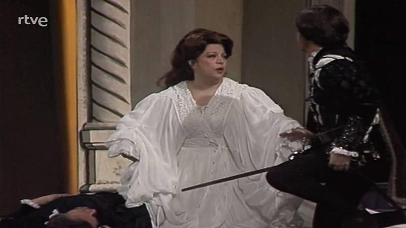 Fragmentos de la ópera Don Juan en el Gran Teatre del Liceu