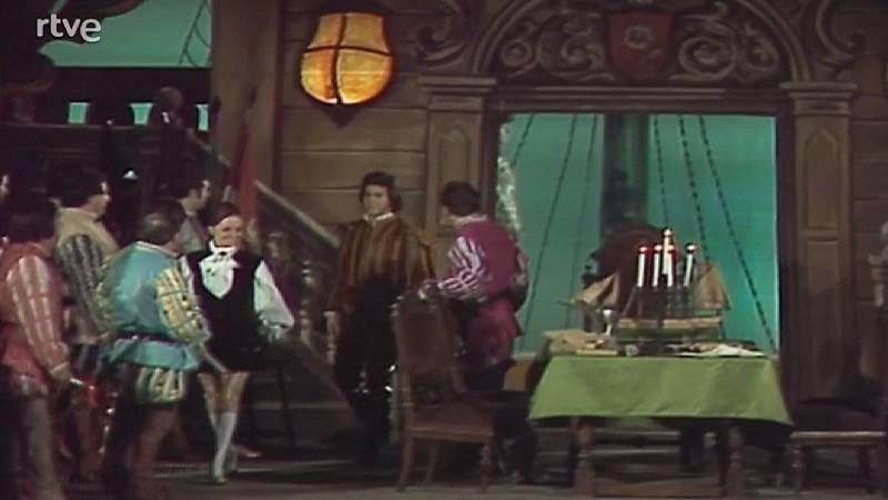 Fragmentos de la representación de Un ballo in Maschera en el Gran Teatre del Liceu