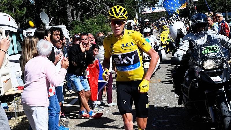 El Mont Ventoux, historia del Tour de Francia