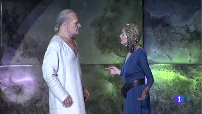 'Antonio y Cleopatra', se estrena esta noche en el Festival de Mérida con Ana Belén y Lluís Homar