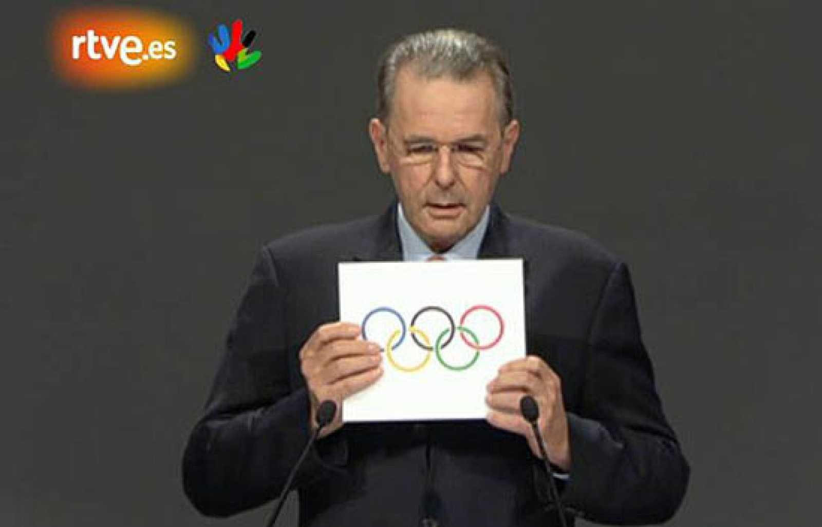 El COI ha otorgado a Río de Janeiro los Juegos de 2016, por los que también pujaba Madrid, que llegó a la última ronda de votaciones.