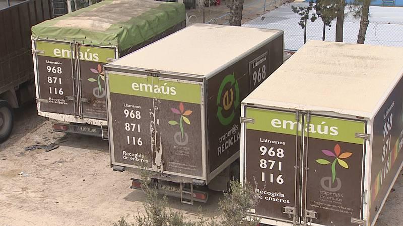 Video sobre el trabajo que realizan los traperos de Emañus en Murcia