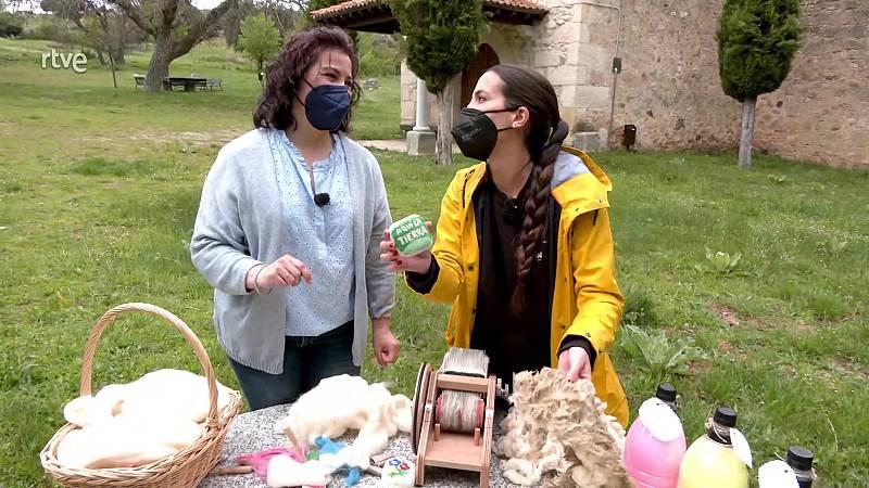 Aquí la Tierra - ¿Qué resultado tenemos de la suma jabón + lana?