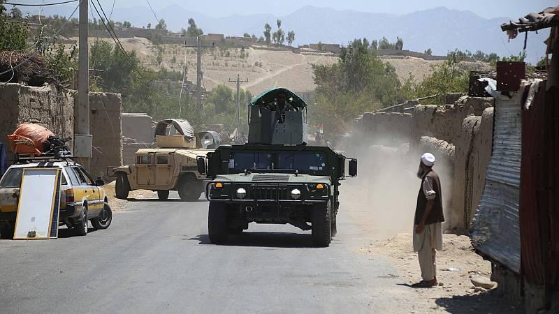 Las fuerzas afganas se preparan ante la ofensiva de los talibanes
