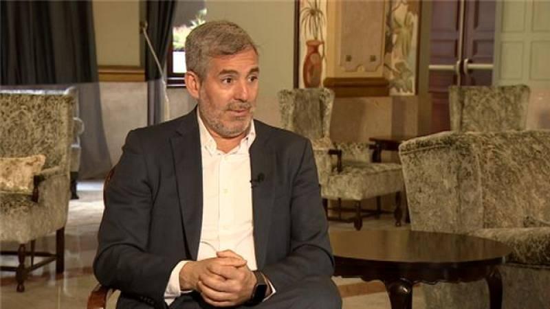 TVE habla con Fernando Clavijo - 11/07/2021