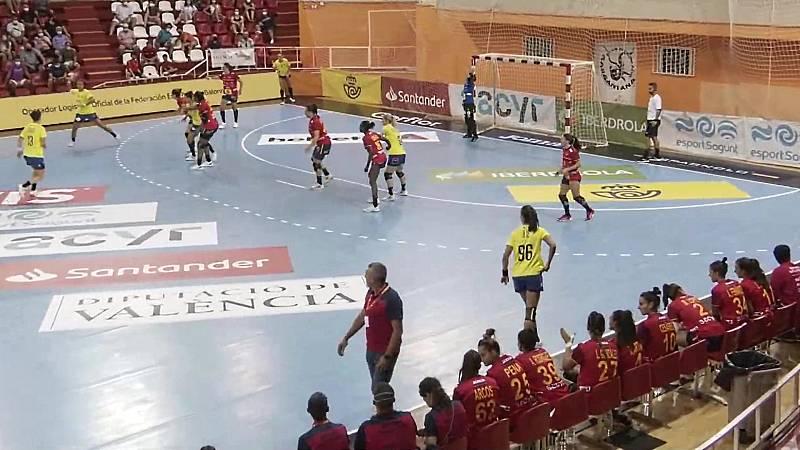 Balonmano - Encuentro selección femenina preparación JJ.OO.: España - Rumanía - ver ahora