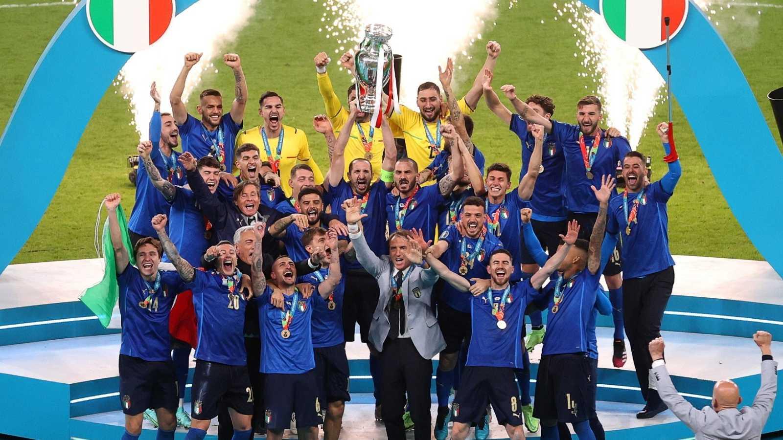 Italia campeona de Europa tras vencer en los penaltis a Inglaterra en Wembley