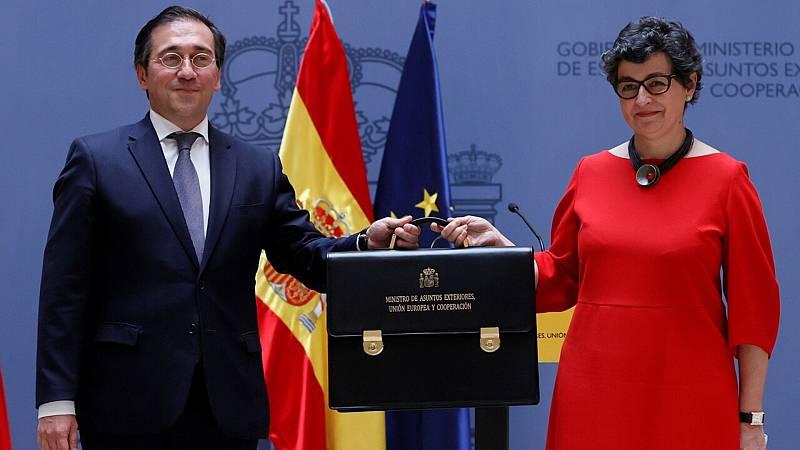 """Albares aboga por reforzar la relación con Marruecos, el """"gran vecino y amigo del sur"""" - Ver ahora"""