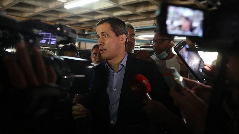 Guaidó denuncia un intento de detención por parte de las autoridades venezolanas