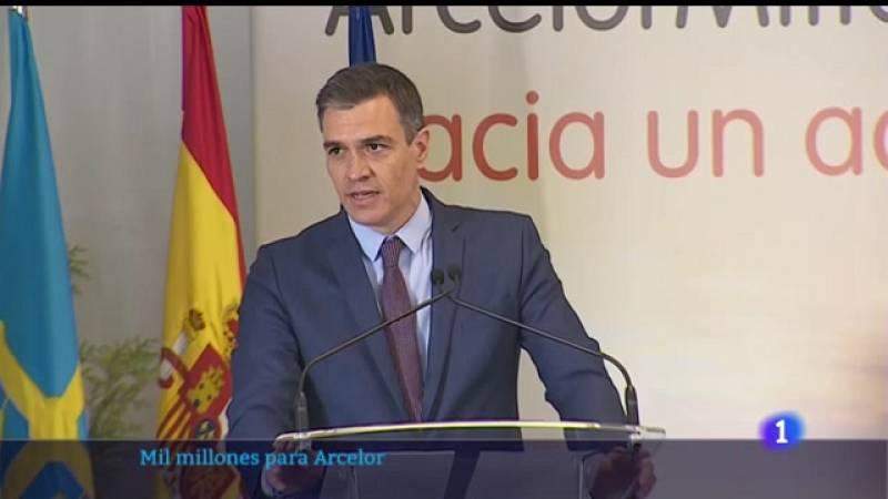 Sánchez traslada un mensaje de optimismo para el futuro de la industria asturiana