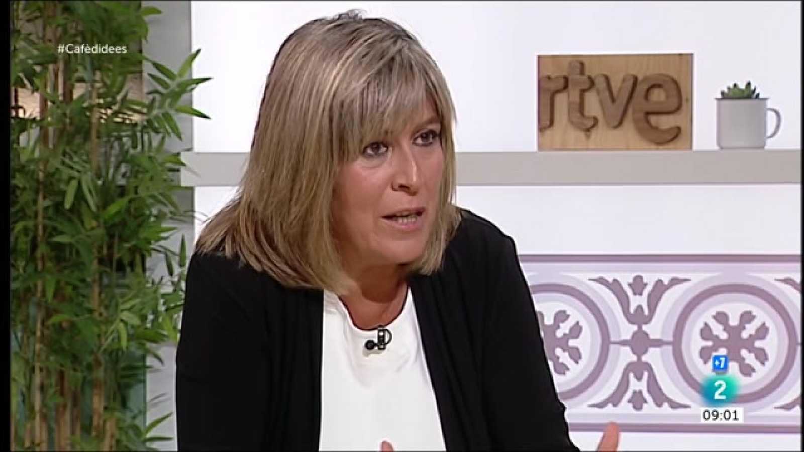 """Cafè d'idees - Núria Marín: """"No sé si el confinament era legal, però s'havia de fer"""""""