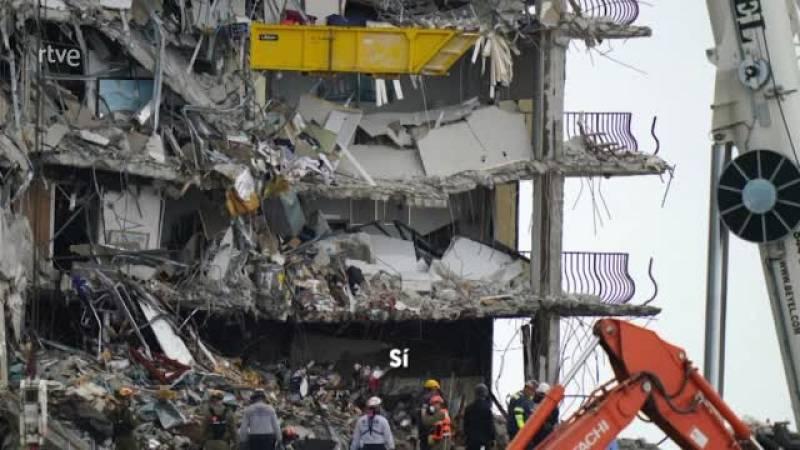 Derrumbe en Miami: se publican las llamadas recibidas durante el colapso de las Torres Champlain