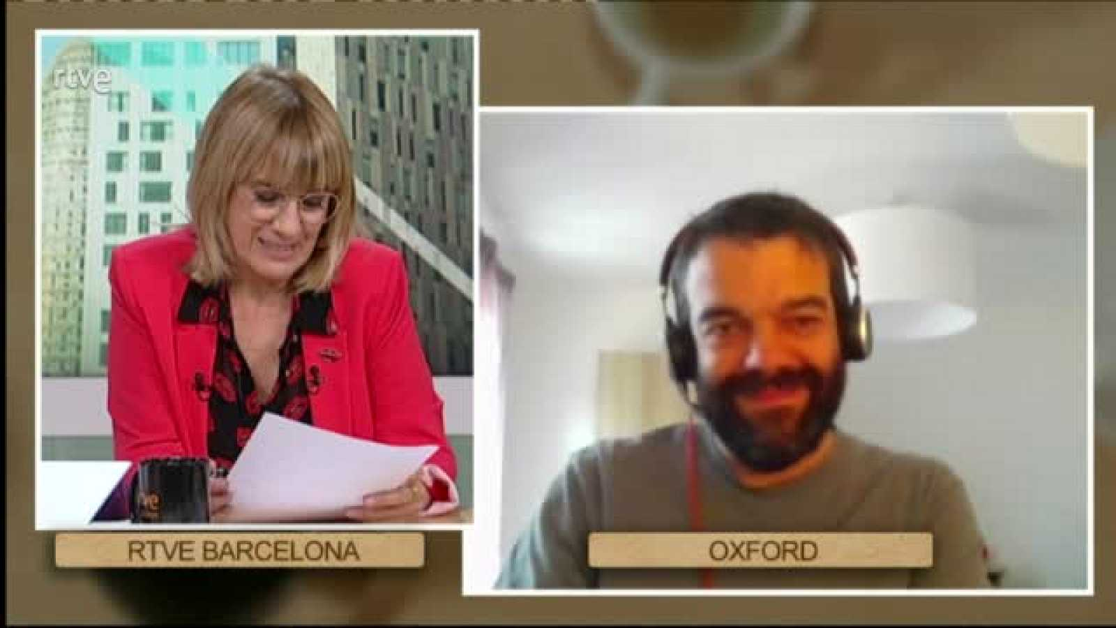 """Cafè d'idees - Prieto-Alhambra: """"La cinquena onda arribarà fins a la tardor o l'hivern"""""""