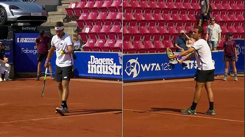 Tenis - ATP 250 Torneo Bastad, 1/4 final: R. Carballés Baena - N. Gombos - ver ahora