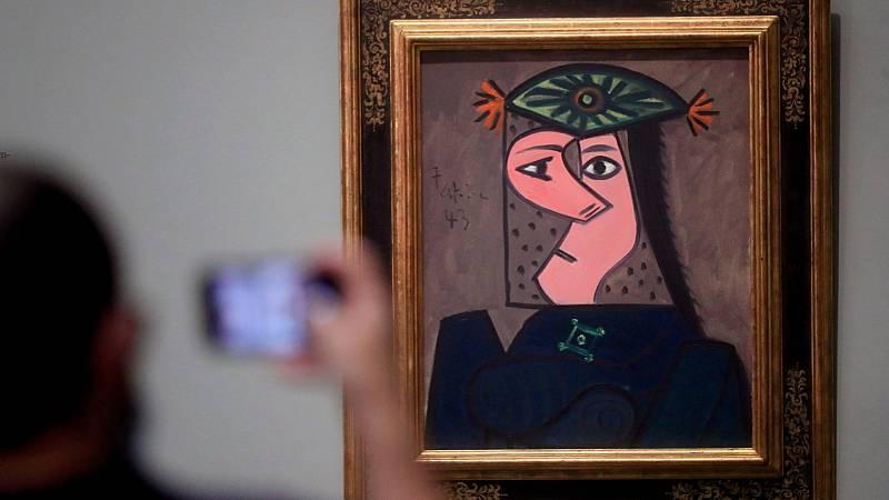 Picasso vuelve al Museo del Prado con su 'Busto de mujer 43'