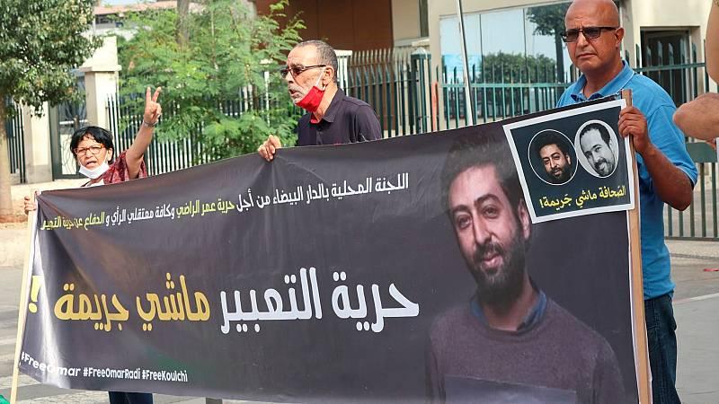 Condenan a seis años de cárcel al periodista marroquí Omar Radi