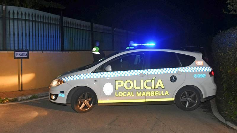 Once heridos después de que un vehículo arrase las terrazas de varios restaurantes en Marbella