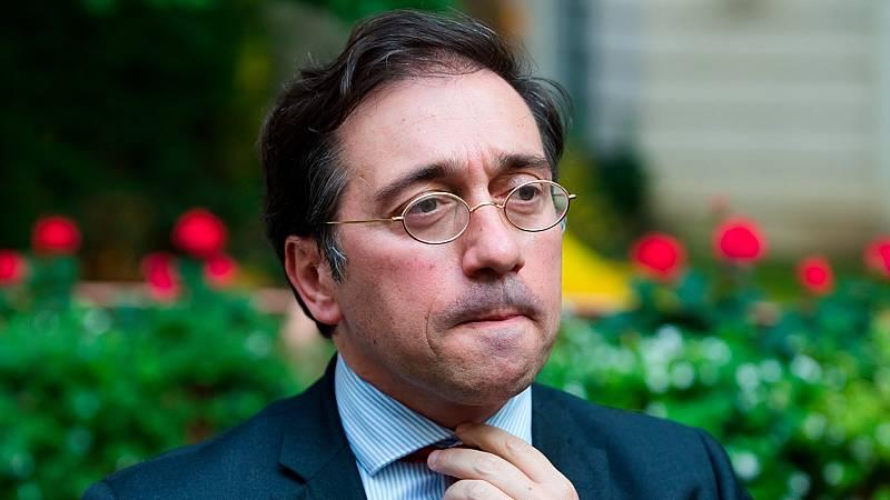 Albares realiza su primer viaje como ministro a Londres con Gibraltar como tema central