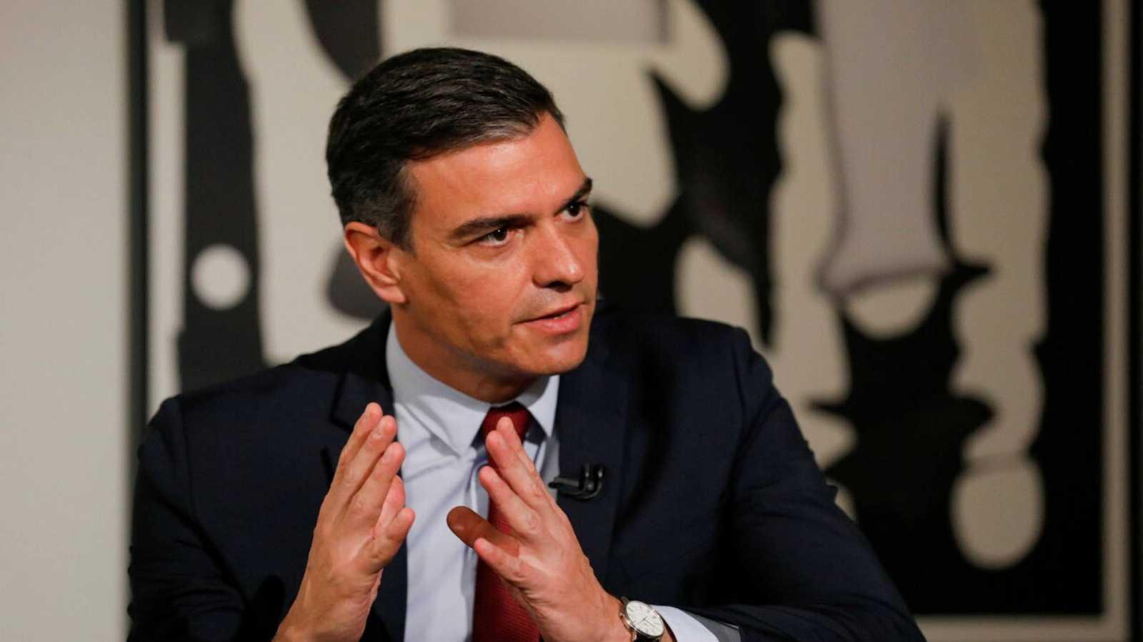 Pedro Sánchez comienza su gira por EE.UU. en busca de inversores