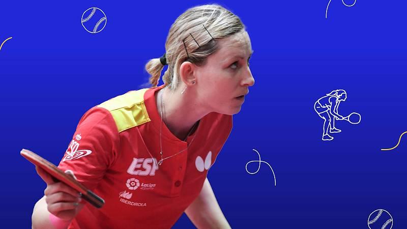 Galia Dvorak, el desparpajo en el tenis de mesa - Ver ahora
