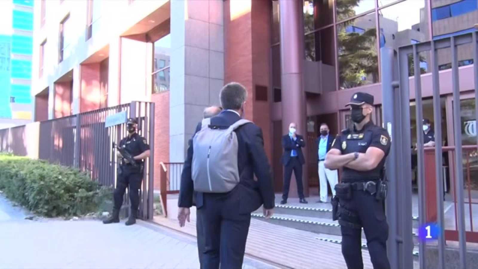 El Tribunal de Comptes dona dos dies a la Generalitat per entregar físicament els avals