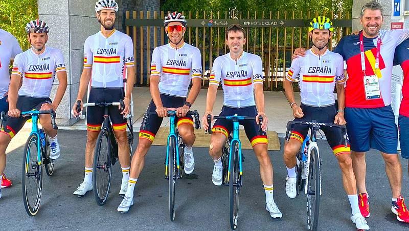 Los protagonistas de Tokyo 2020 | Así se prepara el equipo español de ciclismo -- Ver ahora