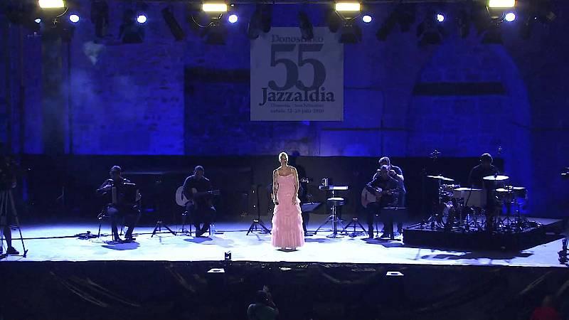 55º Jazzaldia: Mariza canta a Amalia