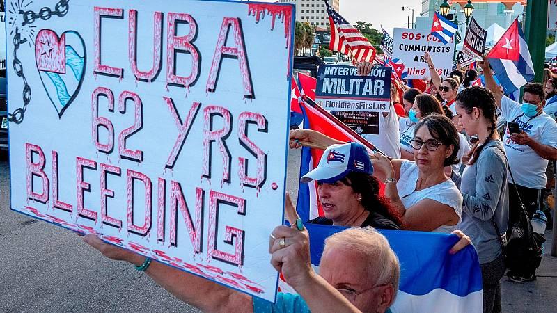 Estados Unidos impone sanciones contra el Gobierno cubano por las detenciones de manifestantes