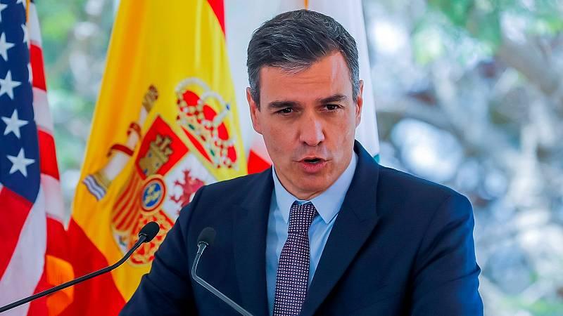 """Sánchez pide reformas """"sin injerencias"""" en Cuba y critica el embargo de EE.UU."""