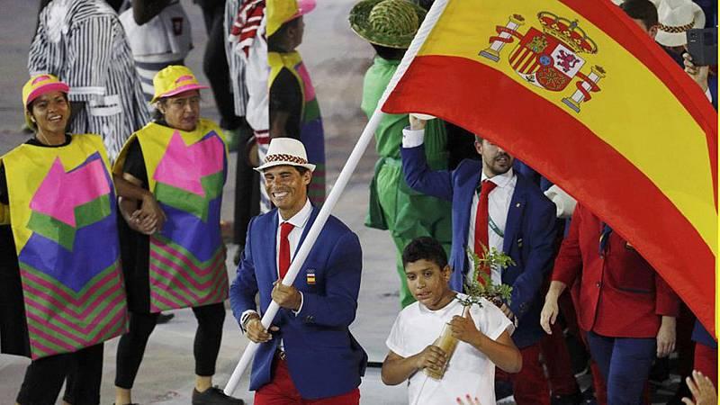 La presentación de la selección olímpica en otras ceremonias de inauguración