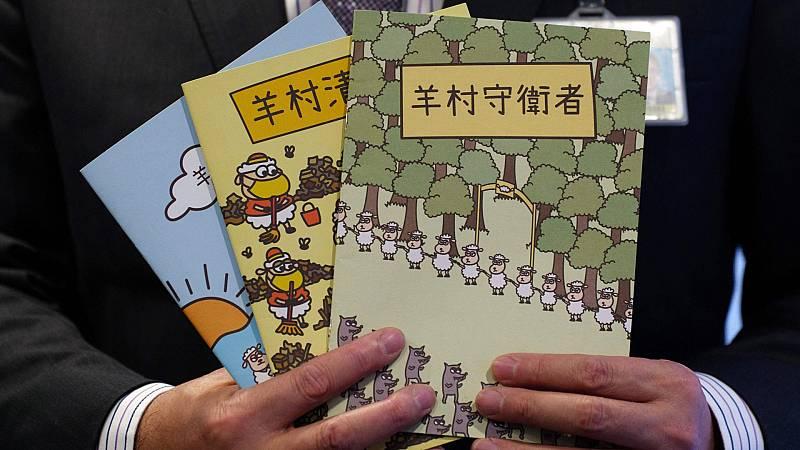 Detenidos cinco editores de cuentos infantiles en Hong Kong por hacer apología de la sedición