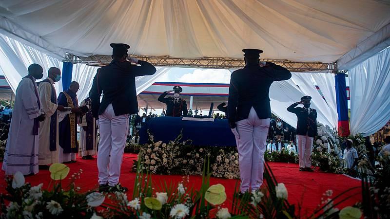Se celebra en Haití el funeral por el presidente Jovenel Moise, asesinado en su residencia