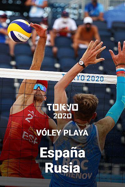 Voley Playa masculino: España - Rusia