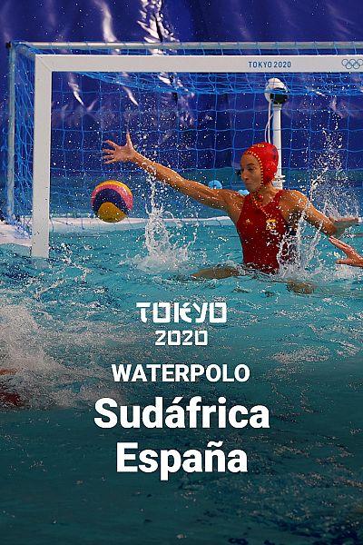 Tokyo 2020 - Waterpolo: Sudáfrica - España