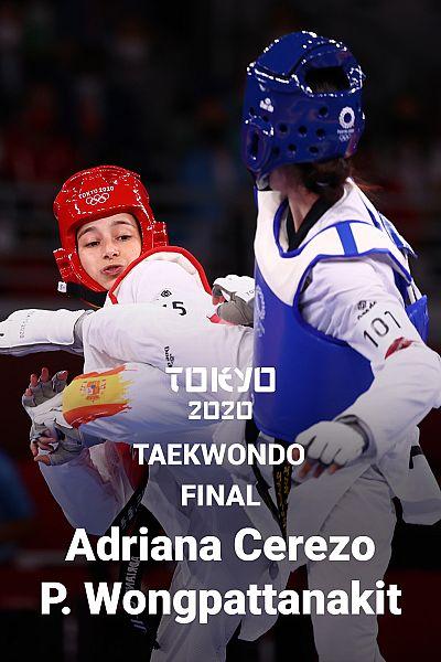 Taekwondo: Final: Adriana Cerezo - Panipak Wongpattanakit