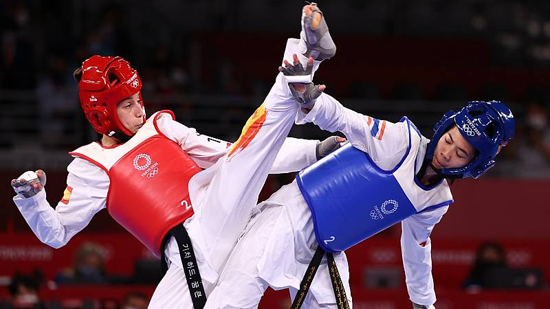 Adriana Cerezo gana la primera medalla para España tras su plata en taekwondo