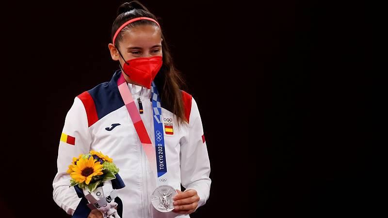 """Adriana Cerezo, plata olímpica: """"Me llevo la ilusión de la gente que hay detrás"""" - ver ahora"""