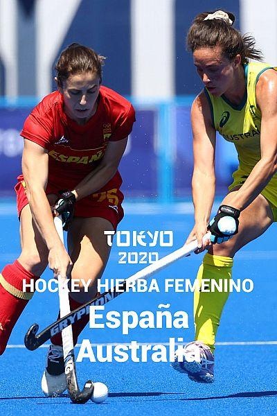 Hockey hierba: España-Australia