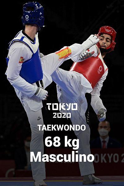 Taekwondo: -68kg: J. Pérez Polo - A. Wael