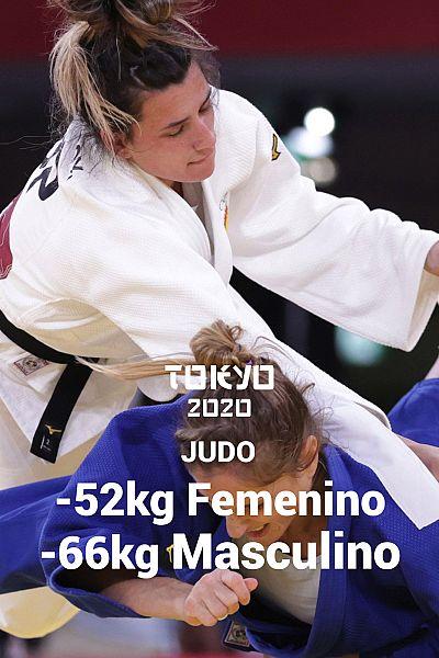 Judo: -52kg Femenino y -66kg Masculino