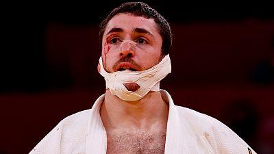 El judoca español Alberto Gaitero cae en primera ronda