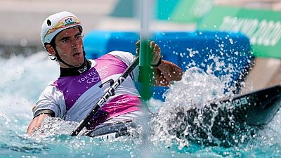 Ander Elosegi alcanza las semifinales de piragüismo slalom