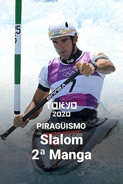 Piragüismo Slalom K1 y C1: 2ª manga